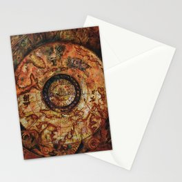 Sao Feng Replica Map Pirates of the Caribbean Stationery Cards