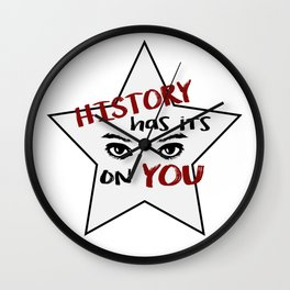 History (Hamilton Series) Wall Clock