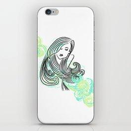 I dream of the sea iPhone Skin