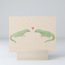 Lizard Love Mini Art Print