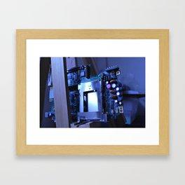 Resting Computer Framed Art Print