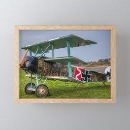 Fokker Triplane Framed Mini Art Print