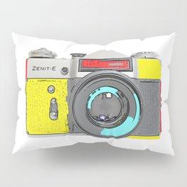Pop Art Vintage Camera Pillow Sham