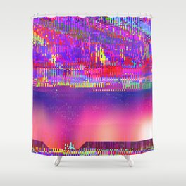 Auroralloverdrive Shower Curtain