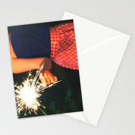 summer sparkler Stationery Cards