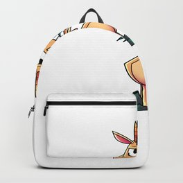Goat Angry Backpack