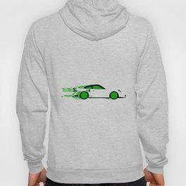 Fast Green Car Hoody