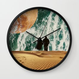 I LOVE YOU TO THE MOON AND BACK #society6 Wall Clock