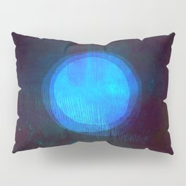Blue Moon Seascape Pillow Sham