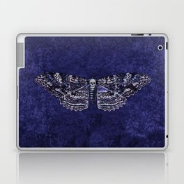 Deathshead Moth Laptop & iPad Skin