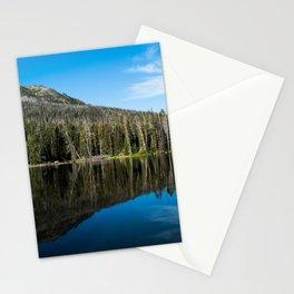 Yellowstone Reflective Lake Stationery Cards