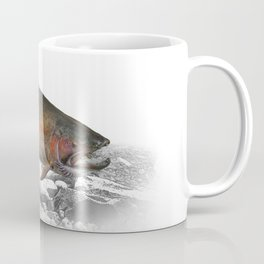 Migrating Steelhead Trout Coffee Mug