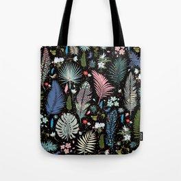 Magic Garden / Floral Pattern Tote Bag