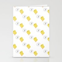 pi Stationery Cards featuring Pi ! by Valentina Cariel