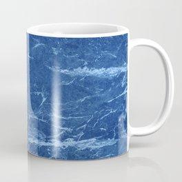 Indigo Grunge Marble texture Coffee Mug