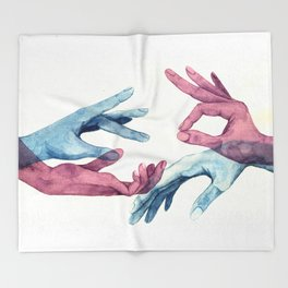 HUMAN CONNECTION Throw Blanket