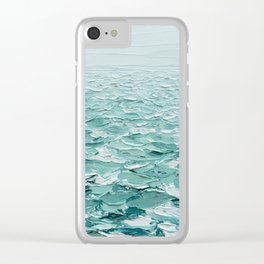 Glistening Expanse Clear iPhone Case
