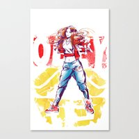 snsd Canvas Prints featuring Obey Jessica~ by Noir0083