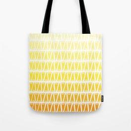 Tee Pee Yellow Gradient Tote Bag