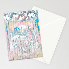 Buddha-Love & Butterfly Stationery Cards