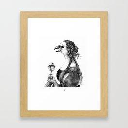 Tête-à-tête with Botticelli Framed Art Print