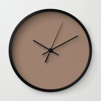 beaver Wall Clocks featuring Beaver by List of colors