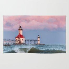 St. Joseph Michigan Lighthouse 01 Rug
