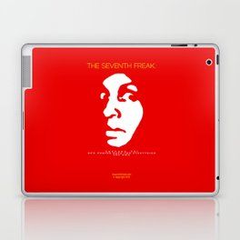 The Freaky Red Poster Laptop & iPad Skin