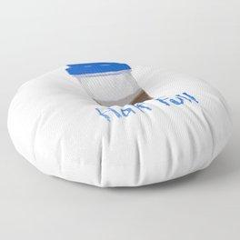 Half Full Floor Pillow