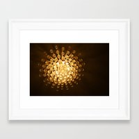 chandelier Framed Art Prints featuring Chandelier by Michelle Capobianco