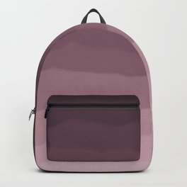 Gray Heather Fluff Gradient Backpack
