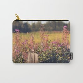 Fall Fireweed at Creamers Field, Fairbanks Alaska Carry-All Pouch