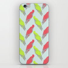 pale parrots iPhone & iPod Skin