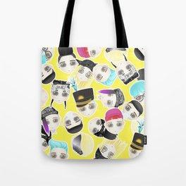 BIGBANG Collage (Yellow) Tote Bag