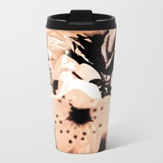 Cream Metal Travel Mug