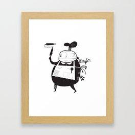 The Baker Framed Art Print