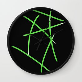Blades of Grass Wall Clock