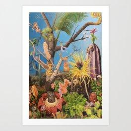 Darwin's Eden (side 2) Art Print