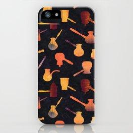 Hot Kenyan coffee iPhone Case