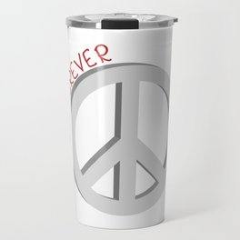 Forever peace symbol Travel Mug