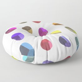 Painted Pebbles 2 Floor Pillow
