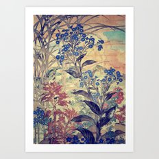 Slow Burning Art Print