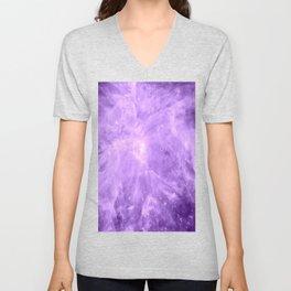Lavender Orion Nebula Unisex V-Neck