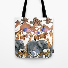 The Zoo Tote Bag