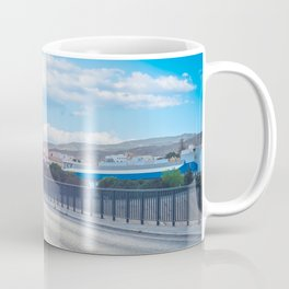 The road and lights in Spain, Andalusia Coffee Mug