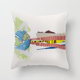 Cry Throw Pillow