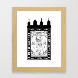 Ricardian Dilemma Framed Art Print