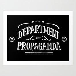 Department of Propaganda Art Print