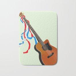 Acoustic Bass Bath Mat