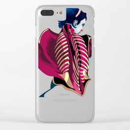 Anatomy 07a Clear iPhone Case